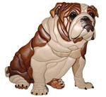 Sitting Bulldog Project Pattern