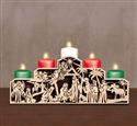 Nativity of Jesus Candelabra Project Pattern
