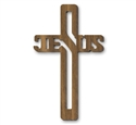 JESUS Wall Cross Pattern