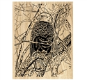 Eagle's Watch Scrolled Art Project Pattern