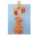 Compound Cut Fantasy Flowers & Vase Project Patterns