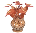 Compound Cut Anthuriums & Vase Project Pattern