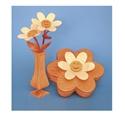Compound Cut Sunshine Flowers/Vase & Box Project Patterns
