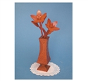 Compound Cut Star Flowers & Vase Project Pattern
