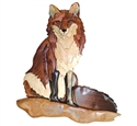 Red Fox Intarsia Design Project Pattern