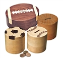Set of 4 Sports Ball Banks Project Patterns