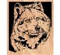 I Am Wolf Scrolled Art Project Pattern