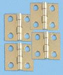 Solid Brass Hinges w/Screws