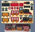 Choo Choo Train Puzzle Design Project Pattern