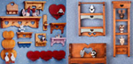 Country Heart Shelves Woodcraft Patterns