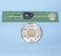Clock Movement and Dial