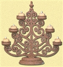 CANDELABRA CHRISTMAS TREE