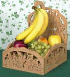 Fruit Basket w/Banana Holder Project Pattern