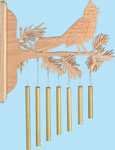 Perched Cardinal Chimes Project Pattern