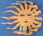 Burning Sun Sconce Project Pattern