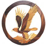 Golden Eagle Intarsia Project Pattern