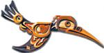 Native American Needlenose Hummingbird Intarsia Project Pattern