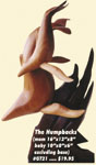 Humpback Whales  Wooden No-Carve Sculpture Project Pattern