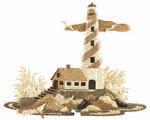 Lighthouse Intarsia Project Pattern