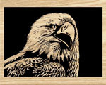 American Eagle Scrolled Art Project Pattern