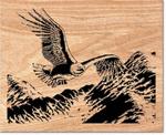 Soaring Eagle Scrolled Art Project Pattern