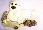 Harp Seal Baby Intarsia Project Pattern