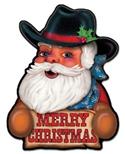 Western Santa Magnet