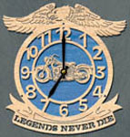 Legends Cycle Clock Project Pattern