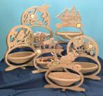 Oval Basket Set of Project Patterns