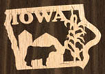 Iowa Ornament Project Pattern