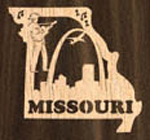 Missouri Ornament Project Pattern