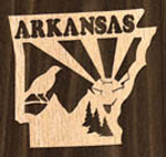 Arkansas Ornament Project Pattern