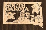 South Dakota Ornament Project Pattern