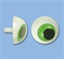 36mm Green 3D Plastic Eye