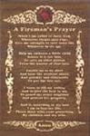 Fireman's Prayer Project Pattern