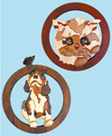 Kitty & Puppy Intarsia Project Patterns