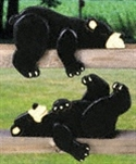 Lazy Bear Cubs Rail Pets Woodcraft Patterns