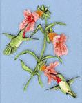 Hummingbird Treat Project Pattern