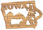 Iowa Plaque Project Pattern