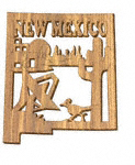 New Mexico Plaque Project Pattern