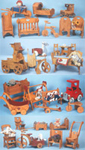 Doll Furniture Collection Woodcraft Patterns
