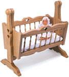 Doll Cradle Woodcraft Pattern