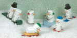 Miniature Snowmen Collection Woodcraft Patterns