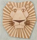 Majestic Lion Wall Hanging Woodcraft Pattern