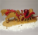 Horse Drawn Sleigh Woodcraft Pattern