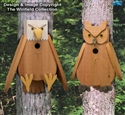 Cedar Eagle & Owl Birdhouse Plans