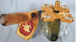 Duck in Flight Wine Bottle Holder Project Pattern
