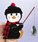 Fishin' Penguin Woodcraft Pattern