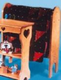 Quilt Rack Wood Project Plans