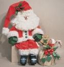 Jolly Santa Woodcraft Pattern